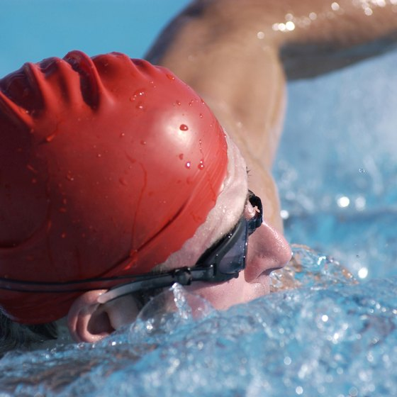 Distance swimming requires a great deal of training and mental preparation.