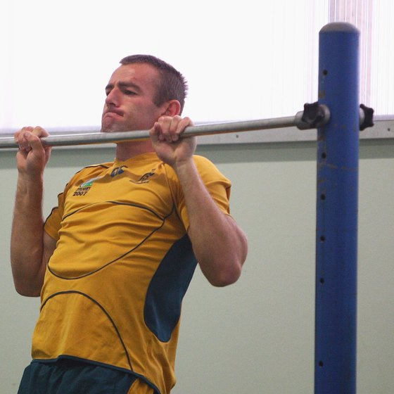 Use full range of motion and descend as slowly as you can when performing a negative pullup.