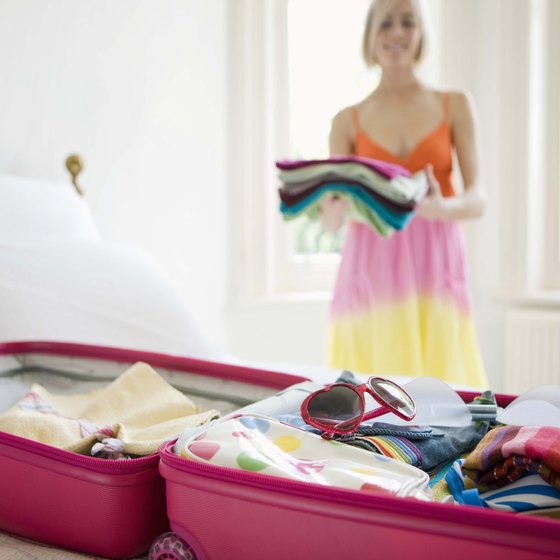 Think about what you pack in cabin and checked baggage.