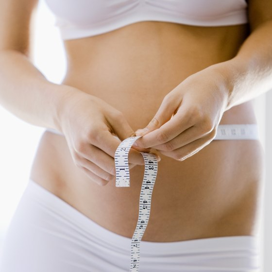 Losing weight too fast will lead to loose skin.
