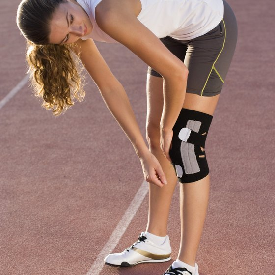 Knee adduction leaves you vulnerable to injury.