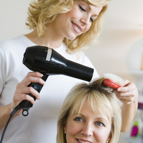 Competition is stiff for stylist jobs in high-end salons.