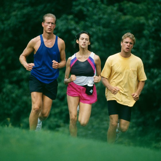 Jogging can cause your skin to chafe.
