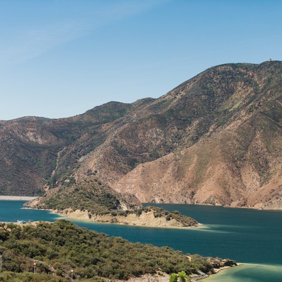 Pyramid Lake is part of the California State Water Project.