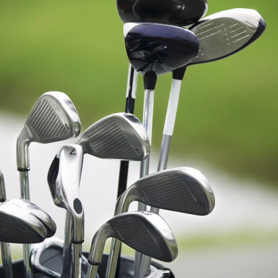 Each club in a golf bag has its own purpose.