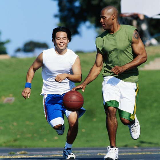 Basketball demands speed and stamina for players to outlast the competition.