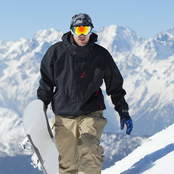 Snowboarding later in life introduces a challenging twist to a traditional fitness routine.