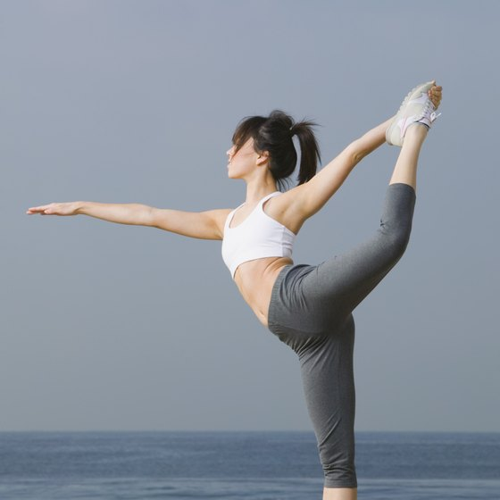 You may want to practice Bikram yoga poses outside instead of in a heated room.
