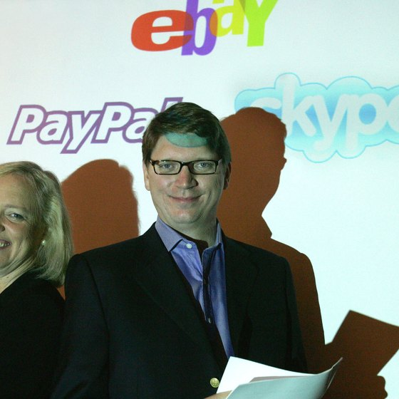 EBay owns PayPal.