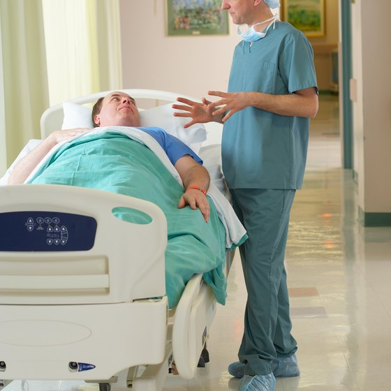 The correlation between arm and leg length can be used to help treat bedridden patients.