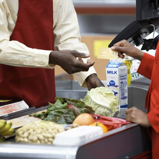 Cashiers deal directly with customers and can leave a lasting impression on them.
