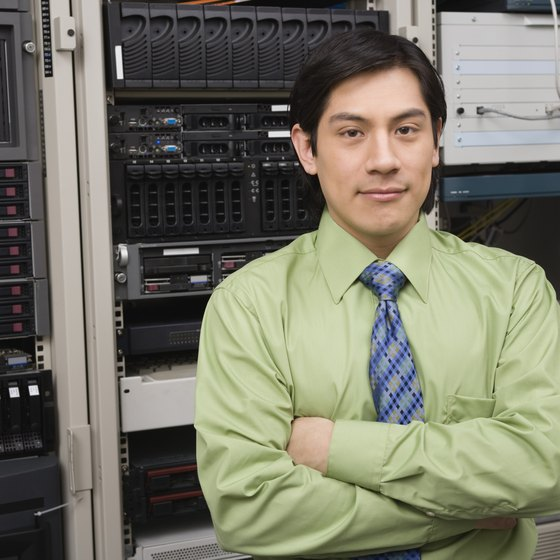 A clean, secure server room is the heart of a functional network.