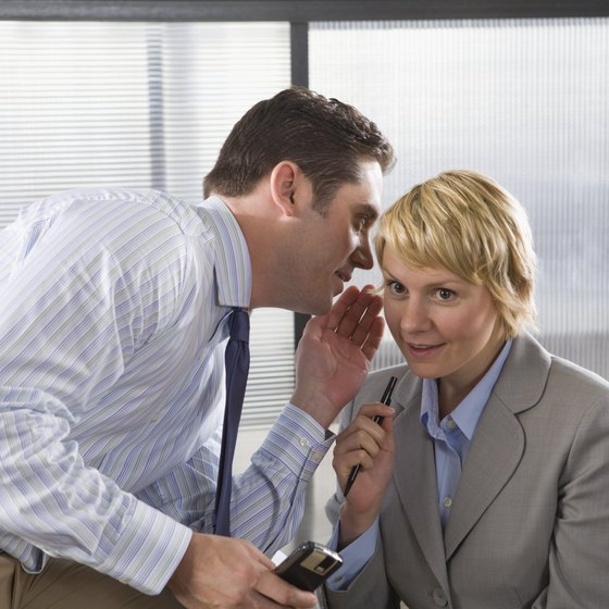 If you know something about a co-worker, it's important to take your concern to HR.