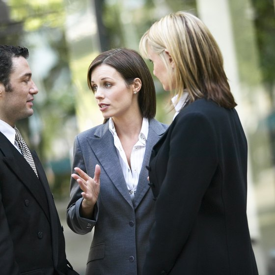 Hire a person to talk up your business in public.