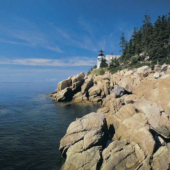 The Bass Harbor Head lighthouse at Acadia is open to the public.