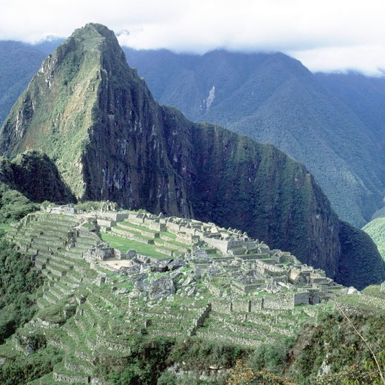 Machu Piccu, near Cuzco, was never discovered by the Spanish conquistadors.