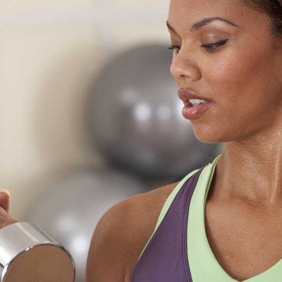 Lifting weights can speed up your metabolism.