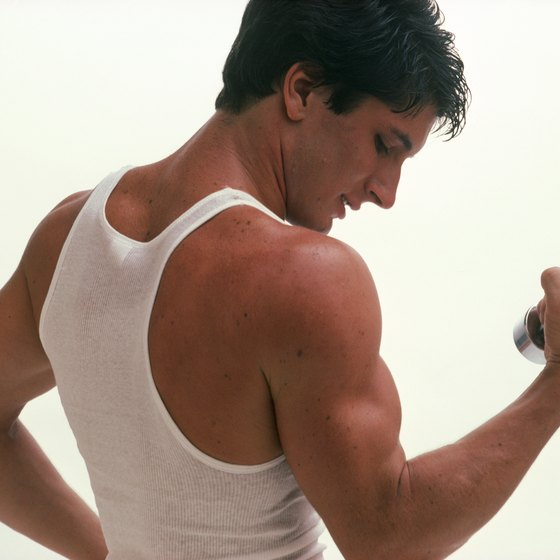 Curling exercises focus on your lower biceps.