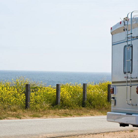 California's scenic roads make it an excellent state for RV traveling.