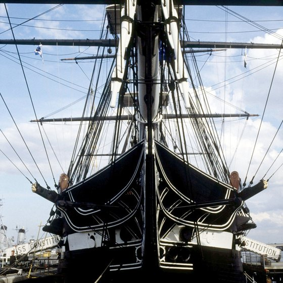 The USS Constitution can be toured in Charlestown or online virtually.
