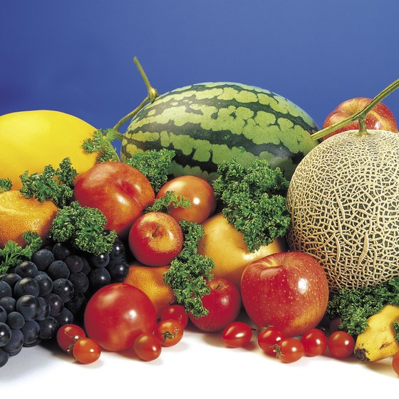 Eating colorful fruits and vegetables protects your muscles.