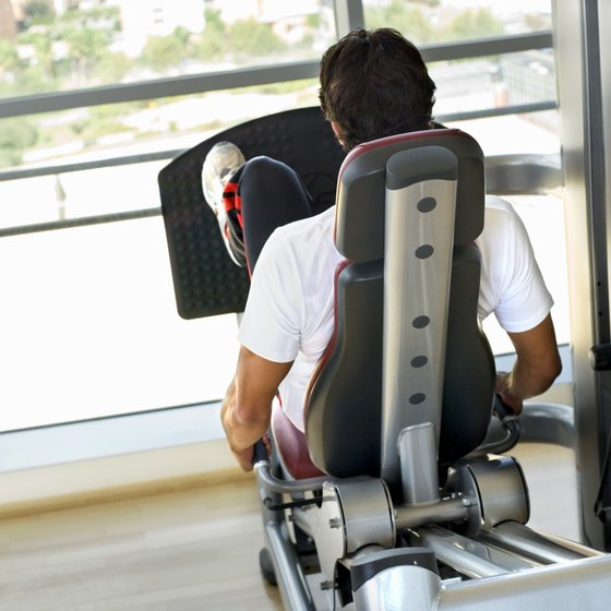 The leg press machine, when used properly, may help prevent knee injuries.