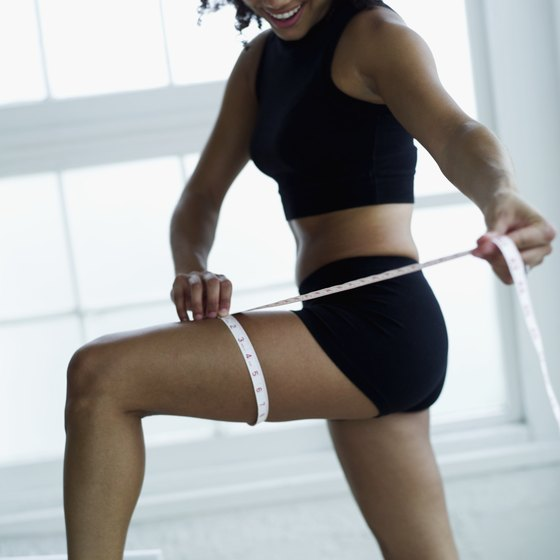 Vigorous cardio will help you achieve thinner thighs.