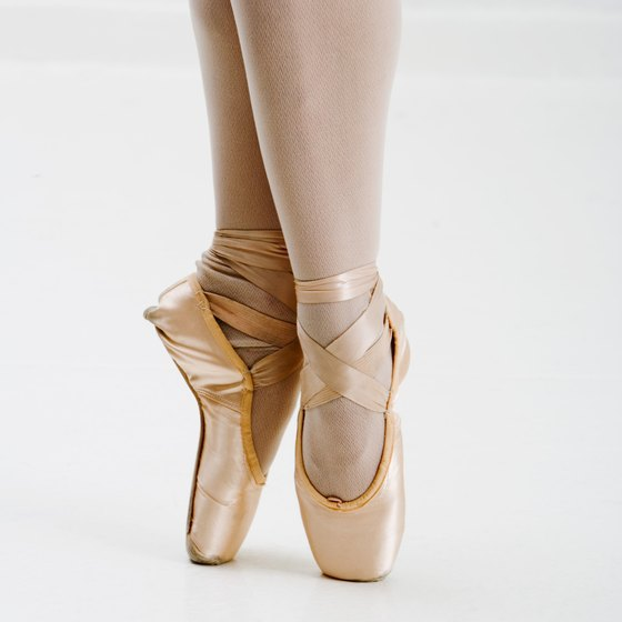 Strong and flexible feet are necessary for pointe work and jumps.
