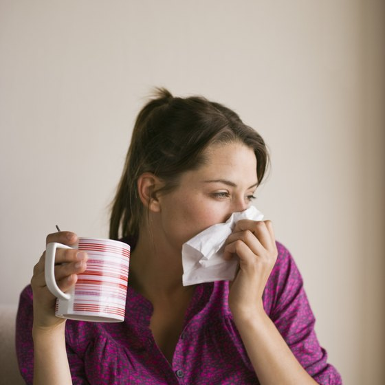 Physical activity may help symptoms of the common cold.