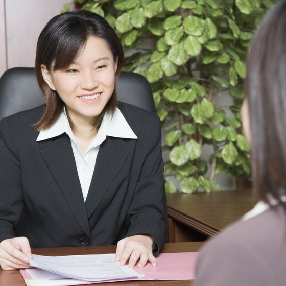 Recruiters should be open and friendly to minimize a candidate's nervousness.