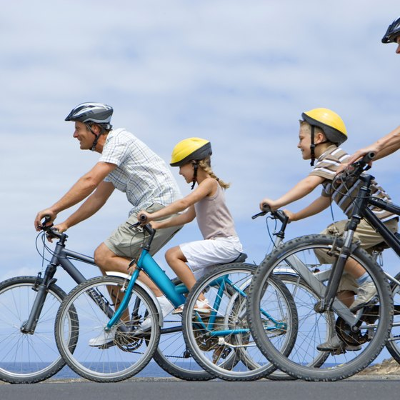 Cycling is an example of rigorous activity.