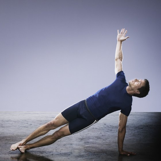 Men's exercises can be performed alone or in group settings