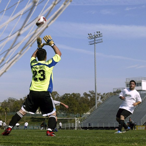 Working your way through lower-level tryouts could eventually lead to trying out for a professional team like the LA Galaxy.