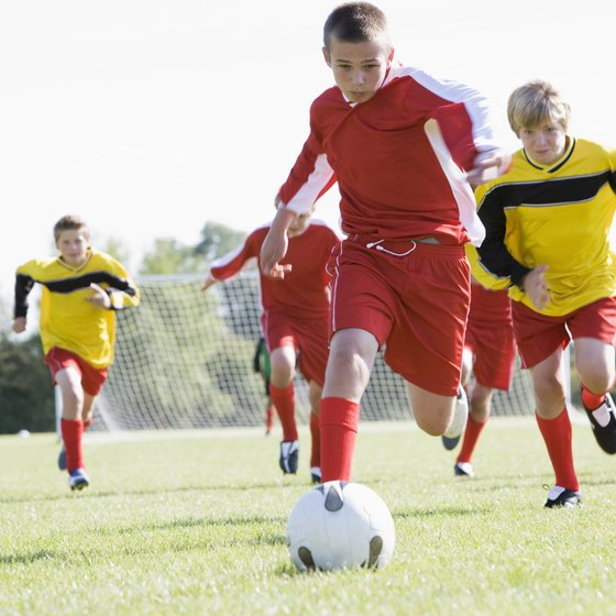 Soccer shin guards should protect players from injury while allowing full mobility.