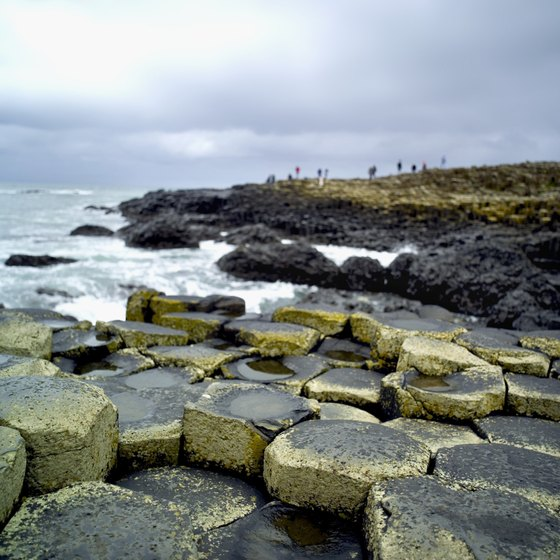 The Giant's Causeway is one of Ireland's top sights to visit.