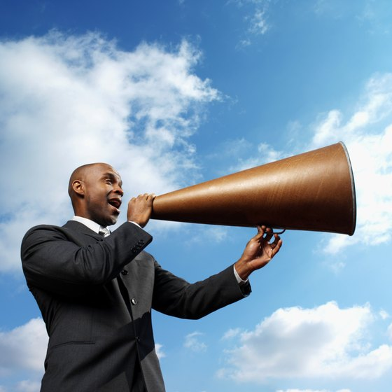 Using a megaphone to promote your business only works if you speak to the right target.