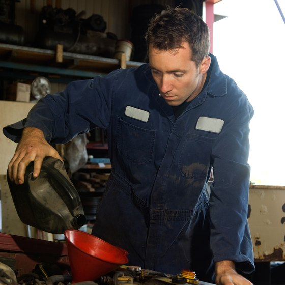 Franchises provide training for your employees to handle oil and lube changes.