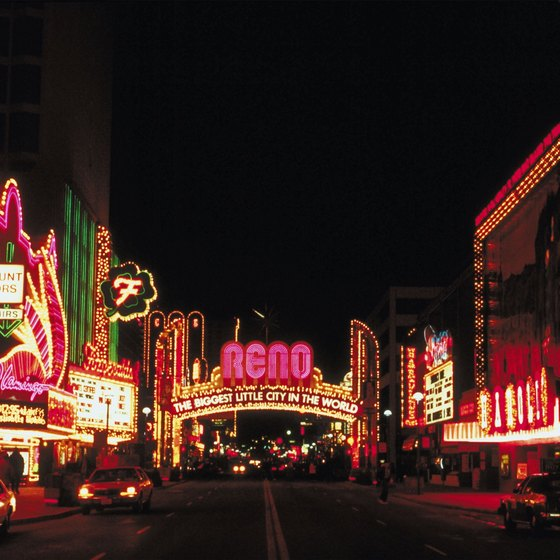 The Reno, Nevada area hosts three yearly LGBT events.