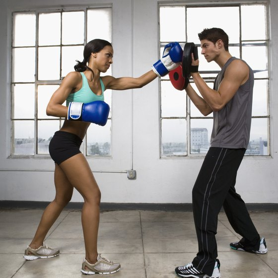 Boxing exercises are a great way to help you lose weight.
