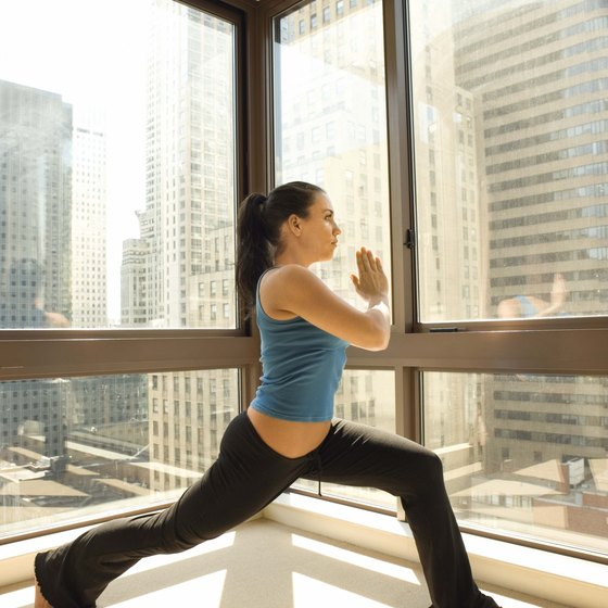 Lunges tone and tighten loose skin after significant weight loss.