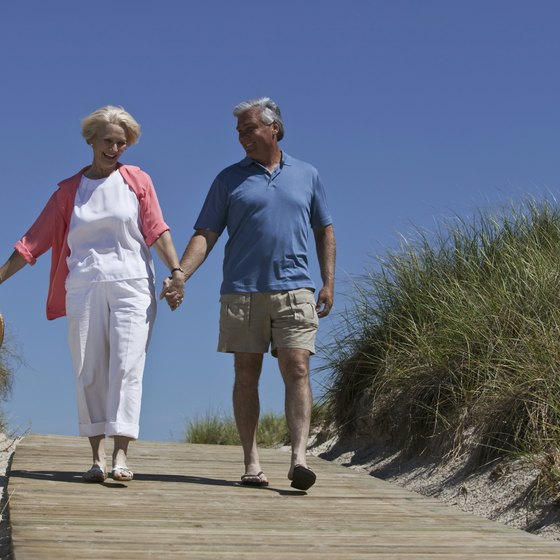 Easy walking can improve endurance, strength, balance and flexibility.
