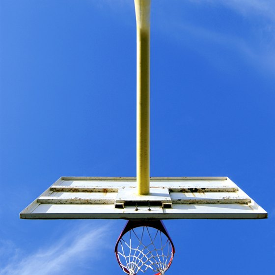 The backboard can be used for a technically legal self-pass.