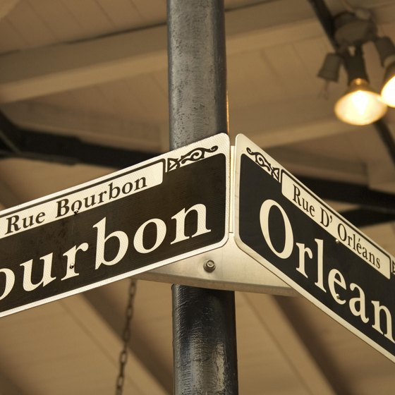 Bourbon Street draws thousands of revelers during Mardi Gras.