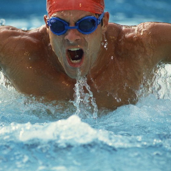 Vary your swim workout to keep from becoming bored.