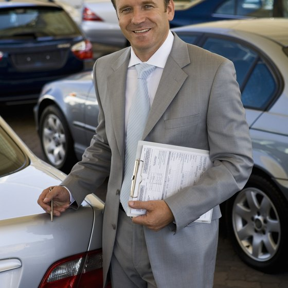 Use a dealer's commercial sales department to purchase vehicles for your business.