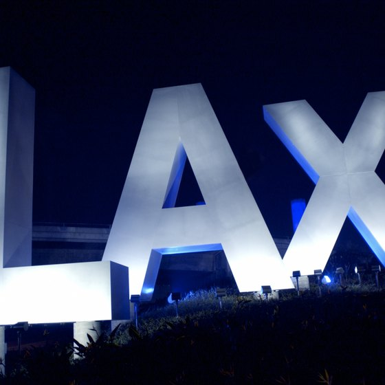 LAX is one of the busiest airports in the world.