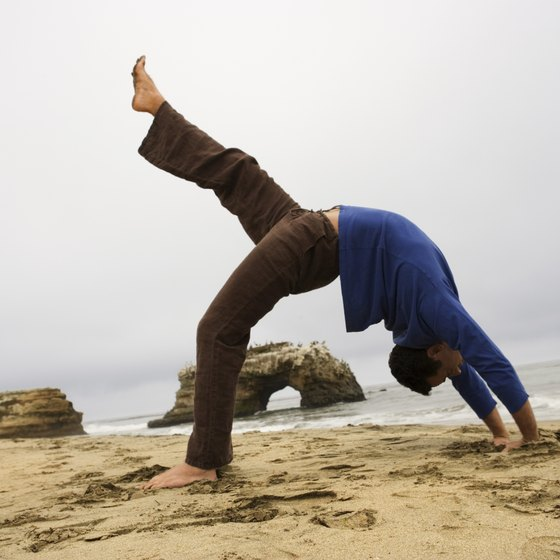 Yoga backbends help you to take a bigger breath of fresh air.