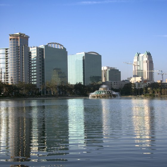 Winter Springs is part of the greater Orlando area.