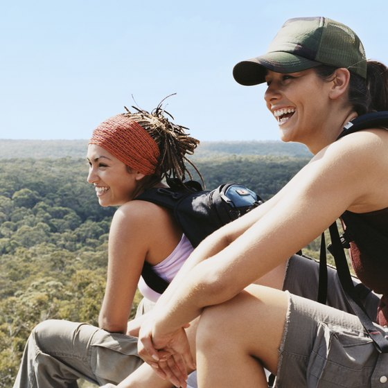 """People who set out to hike the entire Appalachian Trail are called """"thru-hikers."""""""