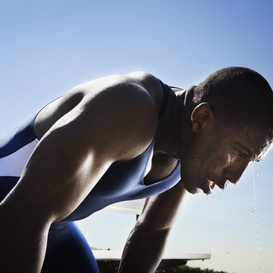 Strenuous exercise can trigger adverse effects such as electrolyte imbalances.